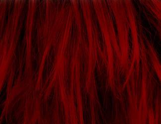Red Hair Texture Vampstock by VAMPSTOCK