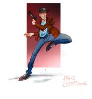 Billy Costigan-Departed by 7amada