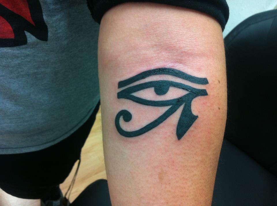 eye of horus tattoo tumblr