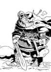 More Norse gods: Vidar by TuomasMyllyla