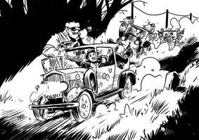 Troll patrol, the great gangster war