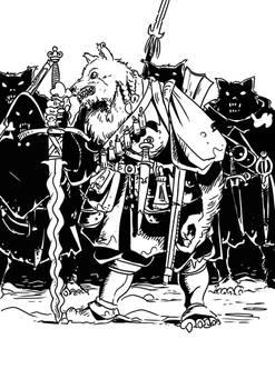 King's trolls: Werewolf company