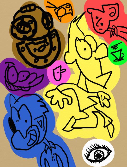 Sketches 2 by Robhasadeviantart