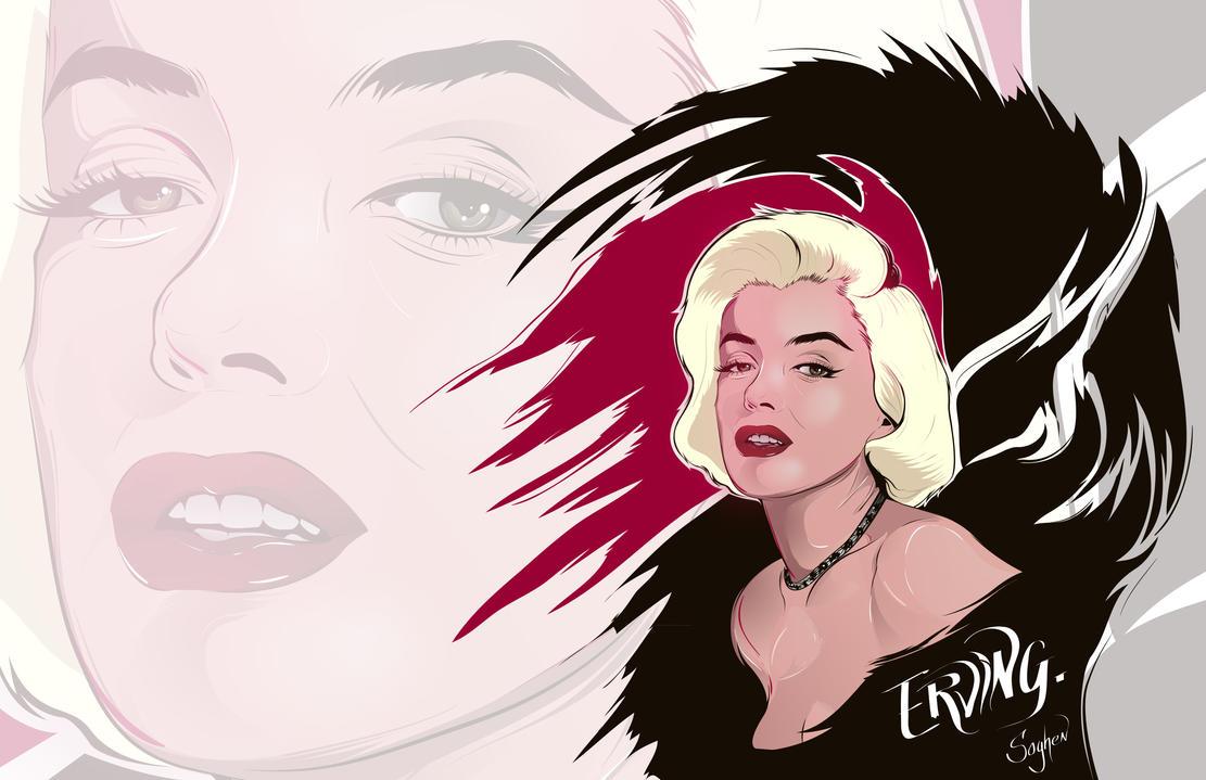 Marilyn 2 by Soghen