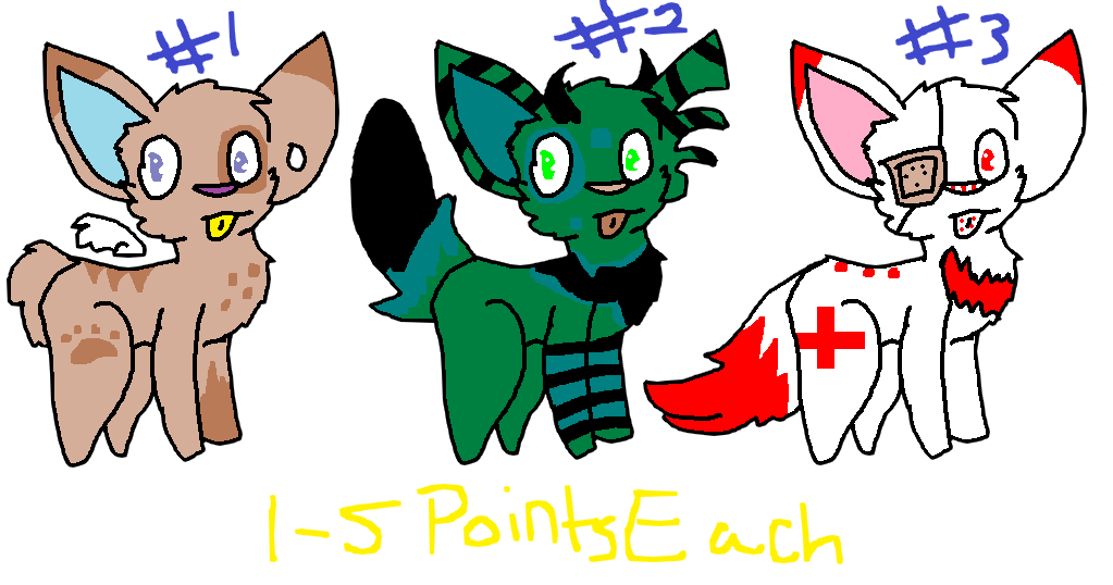 Adoptables (1 Left) by NoOneKnowsx