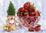 Christmas Strawberries by kiniu8102