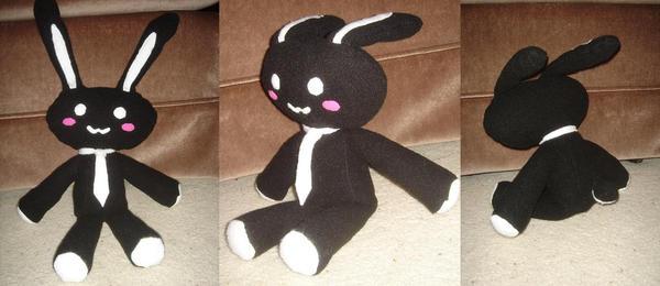 Kurosagi Bunny. Kuro + Usagi by Chibi-Soujiro