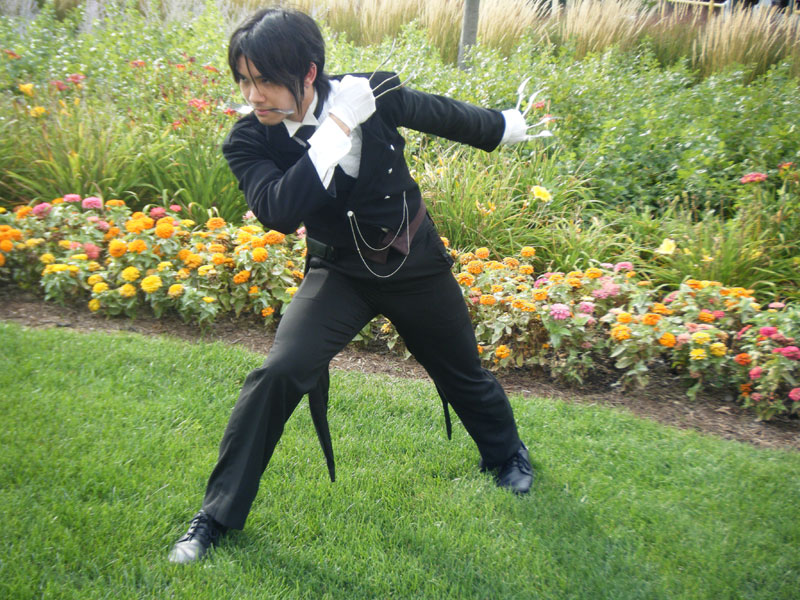 Demon Black Butler Sebastian by Chibi-Soujiro