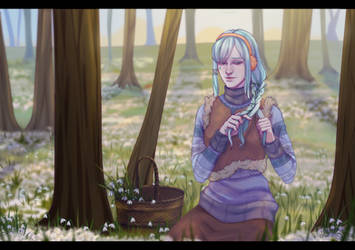 Long-awaited spring by limenta