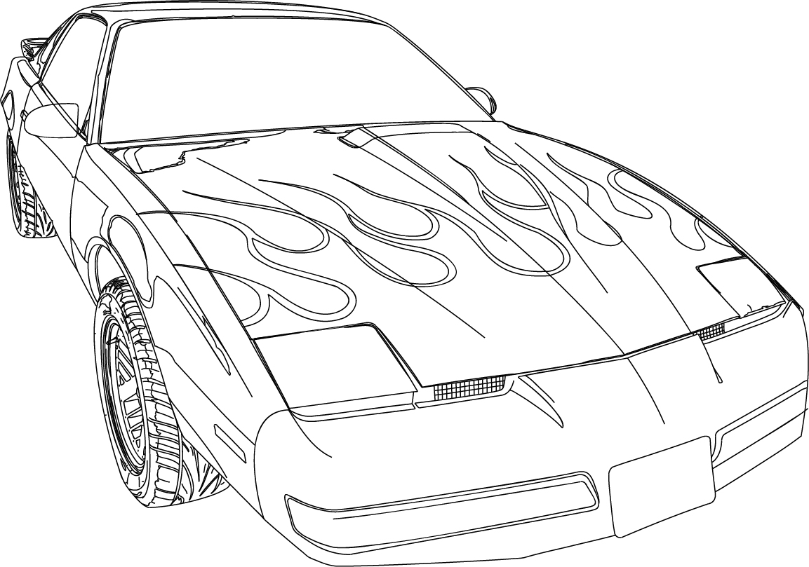pontiac firebird coloring pages on pontiac images tractor