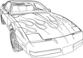 Firebird Formula 350 Illustration v5 by LegendarySuperman