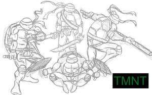 TMNT by LegendarySuperman