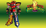 Mighty Morphin Power Rangers Megazord by LegendarySuperman