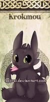 Bookmark Chibi Toothless by Seiirei