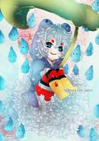 ..:: Rainy Kitsune ::.. by Seiirei