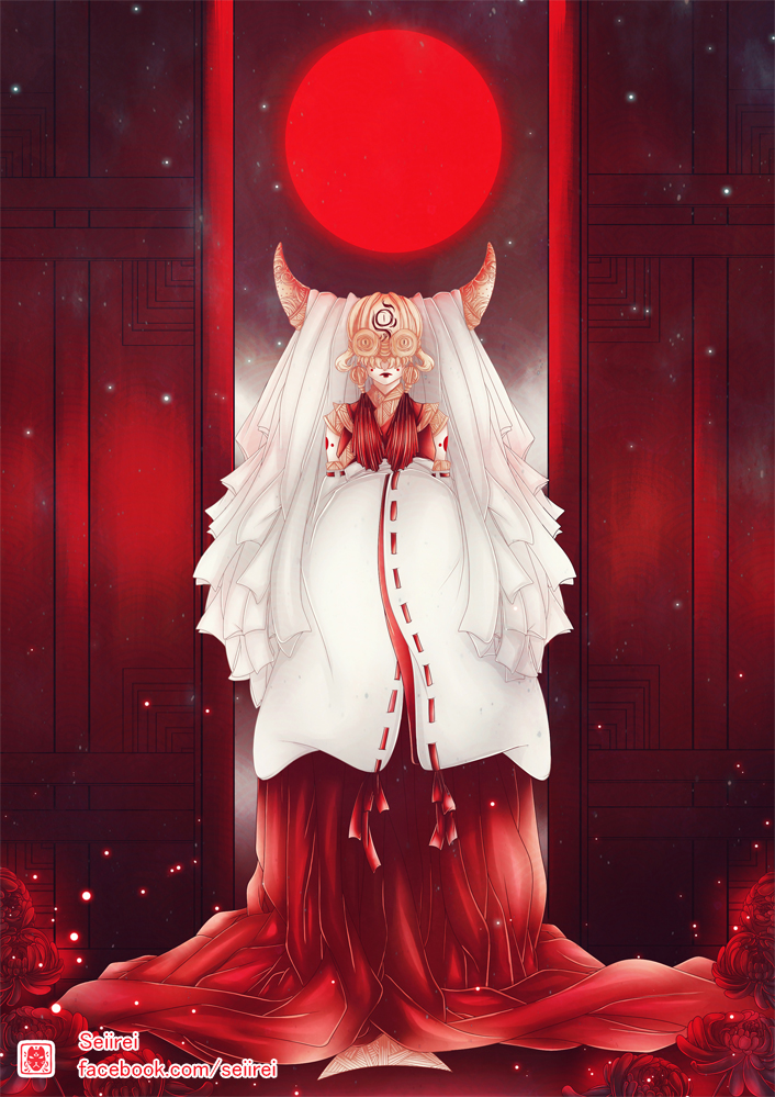 Shrine Maiden by Seiirei