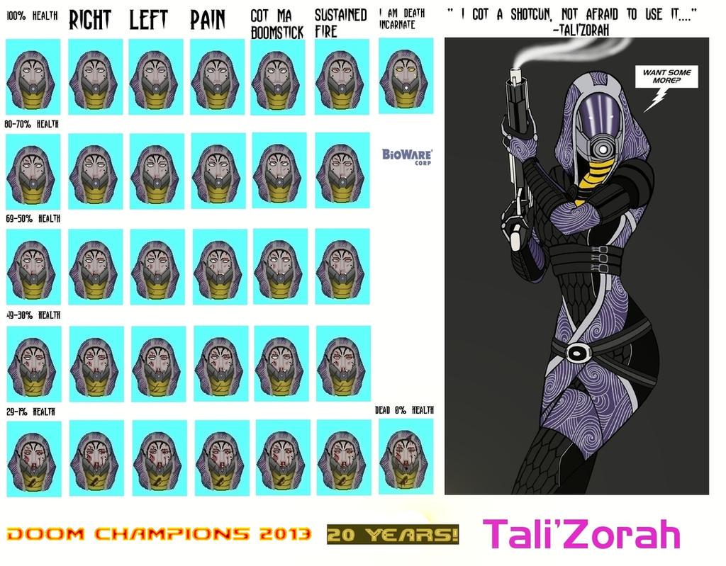 Doom Tali Face FrameTemplate by TitanB92