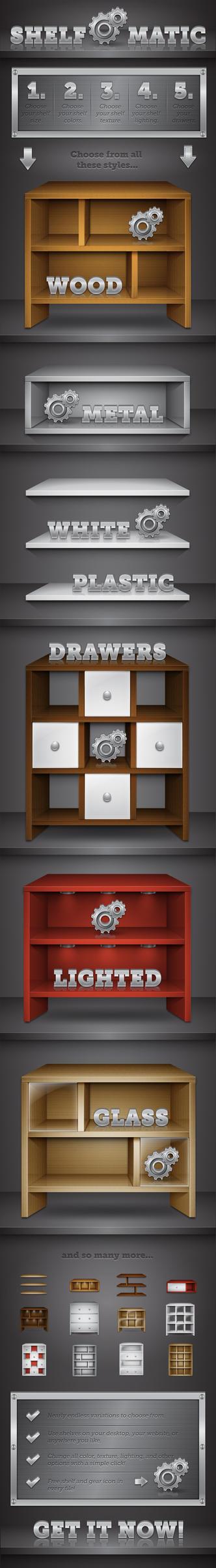 Shelf O' Matic by MelissaReneePohl