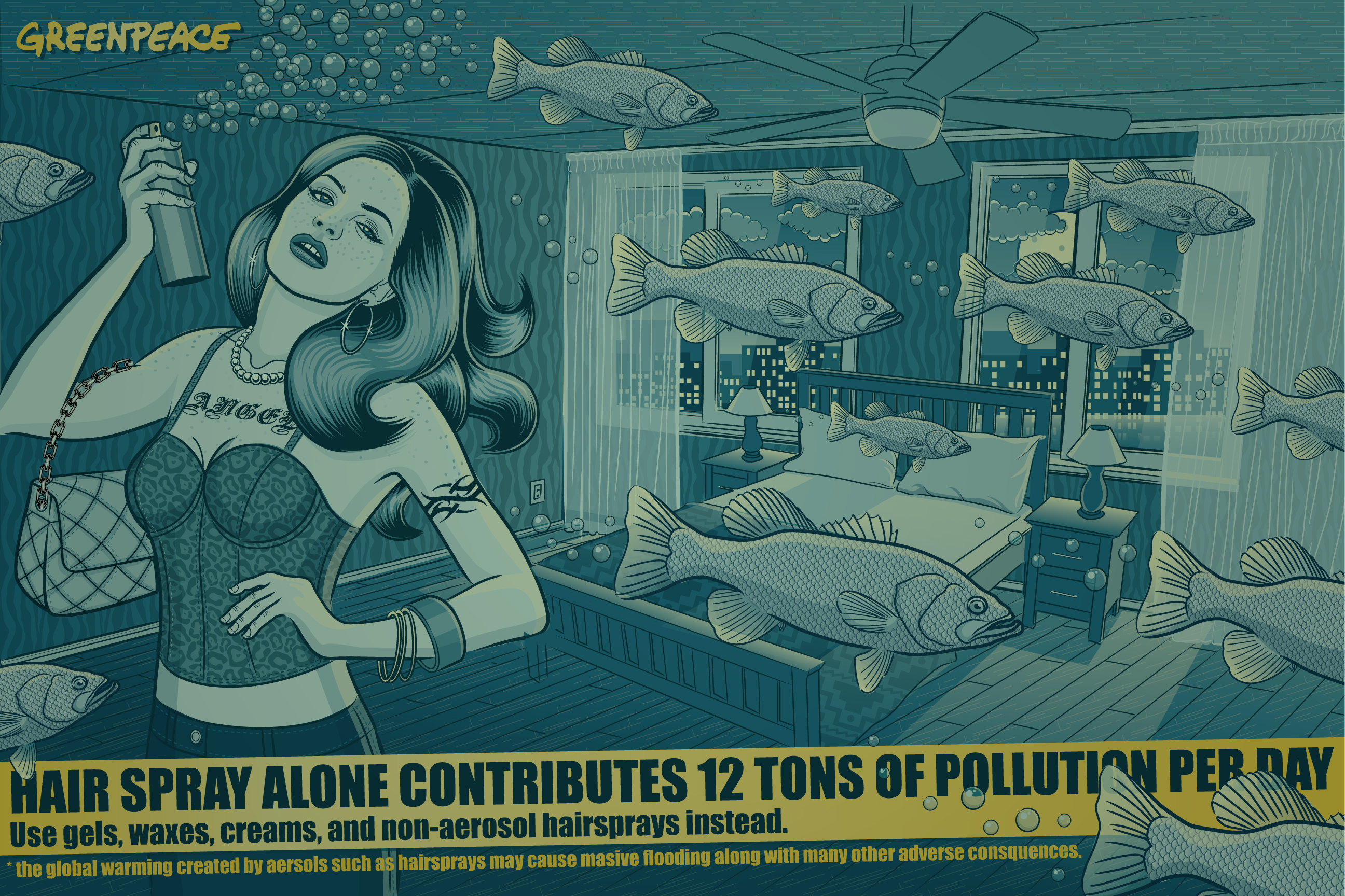 Sleeping with the fishes by melissareneepohl on deviantart for Sleeping with the fishes