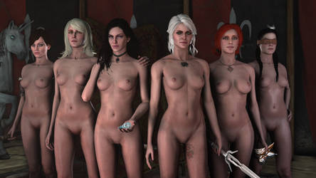 witcher 3 yennefer naked