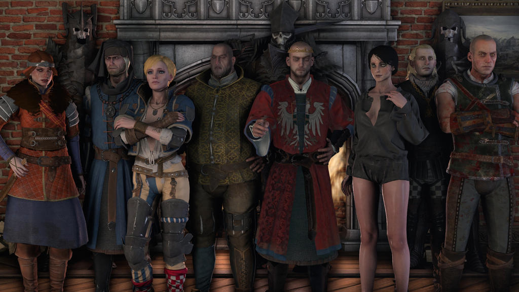 The Witcher 3: Wild Hunt Character Pack 6 Well everyone