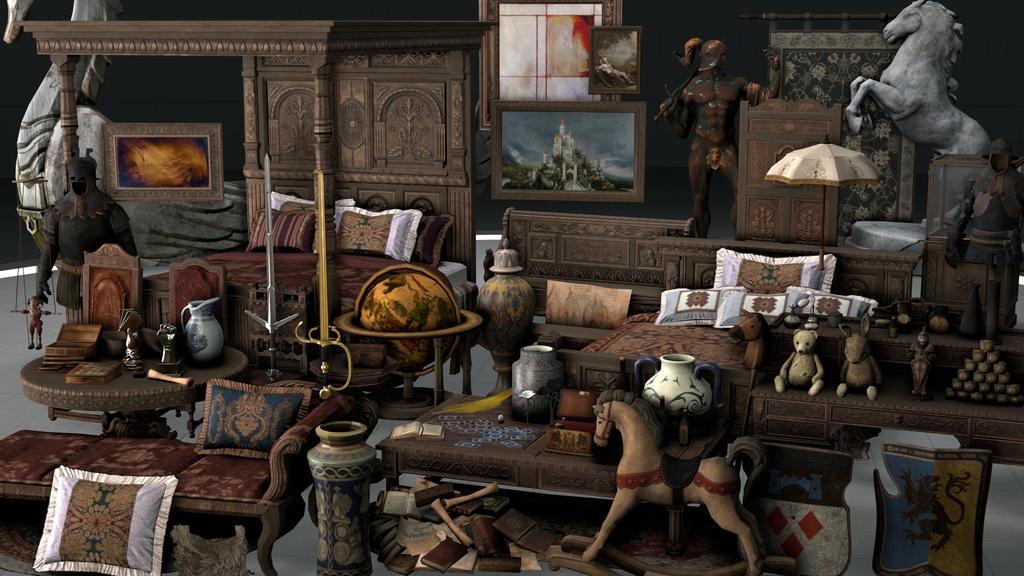 The Witcher 3: Skellige Inn Source Filmmaker Model by
