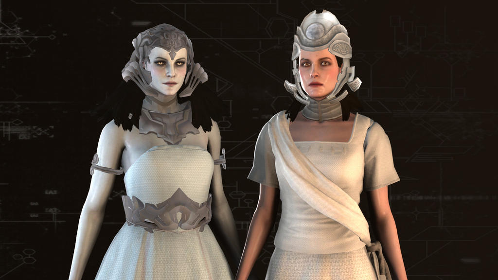 Assassins Creed Juno And Minerva Meshmod Models By Shittyhorsey On