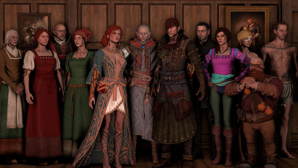 The Witcher 3 Character Pack 5 by ShittyHorsey on DeviantArt