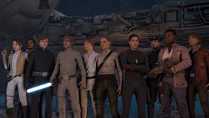 Star Wars Battlefront II SFM models - Pack 2