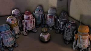 Star Wars Jedi: Fallen Order Astromech SFM Models
