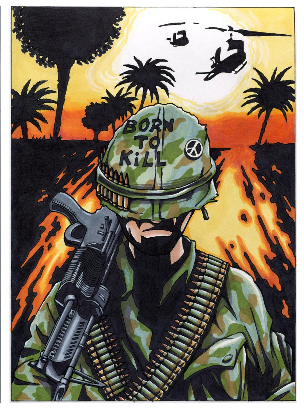 full metal jacket born to kill by colemunrochitty on