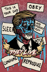 They Live - Obey by colemunrochitty