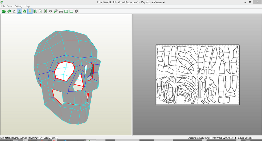 Mask Design Template