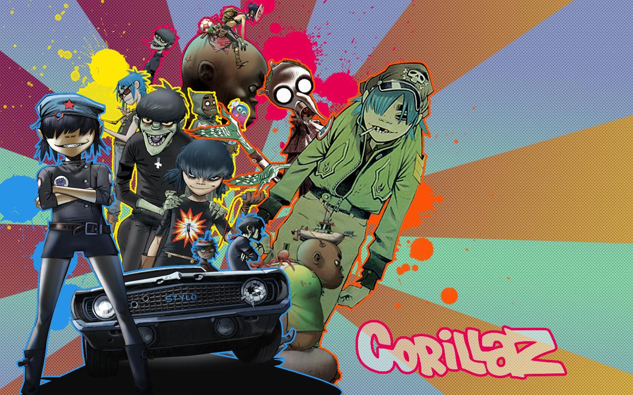 Y Gorillaz Wallpaper Goril...