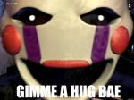 GIMME A HUG BAE  The Puppet meme