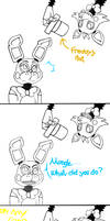 Mangle what did you do?