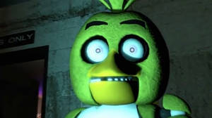 Chica's face of shockness