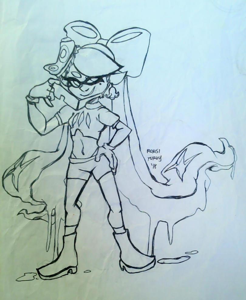 Splatoon | Evil Callie by RonsiTurvy
