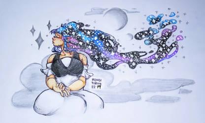 OC   Nebula's Grace by RonsiTurvy