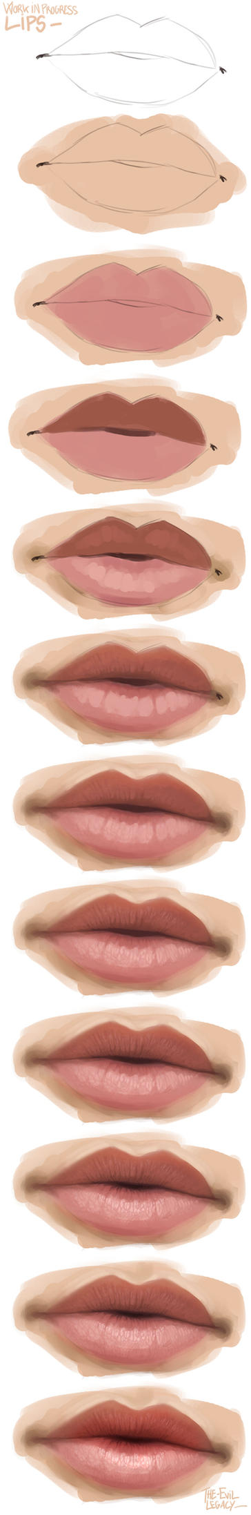 wip - lips by the-evil-legacy