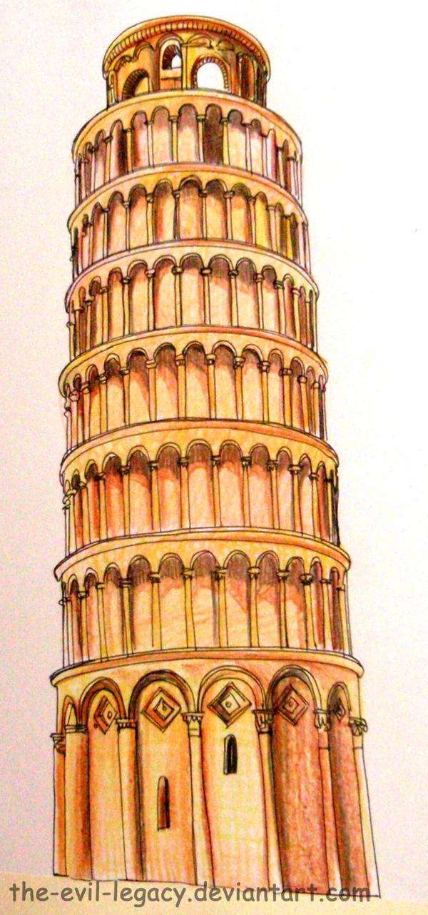 Architecture la tour de pise by the evil legacy on deviantart - Lego architecture tour de pise ...