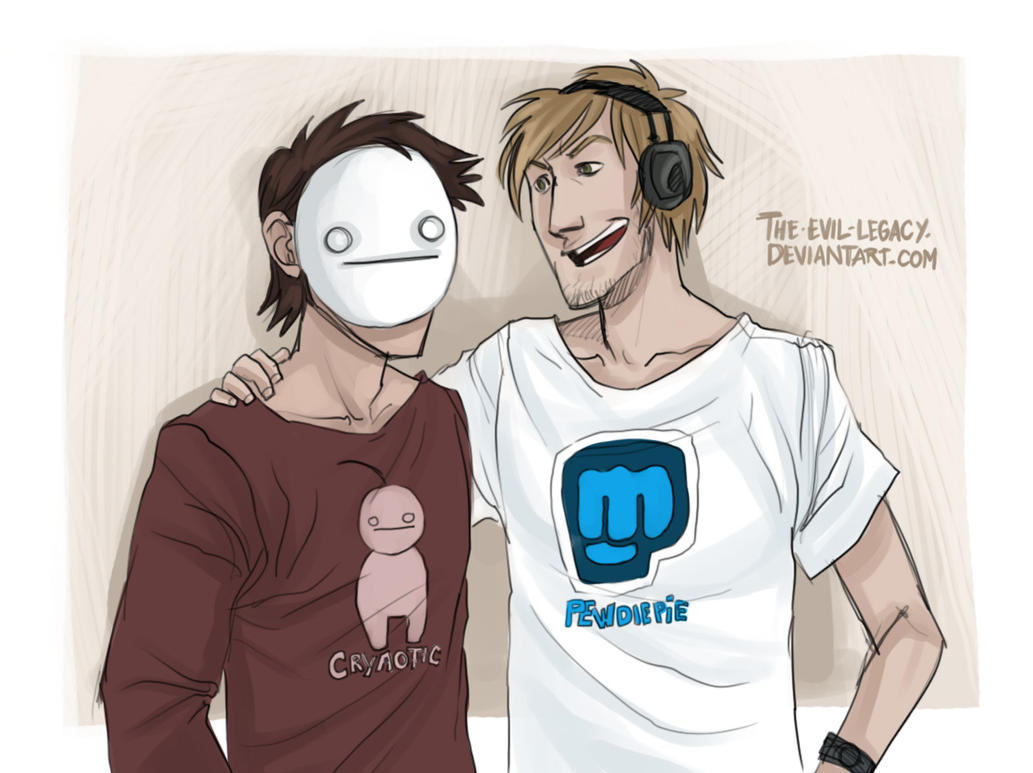 Cryaotic and pewdiepie real life