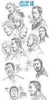 Criss-Cross Sketchs 18