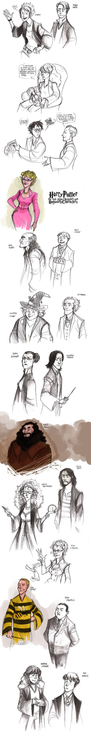 HP - Hogwart's characters by the-evil-legacy