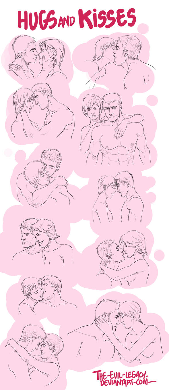 References Hugs And Kisses By The evil legacy On DeviantArt