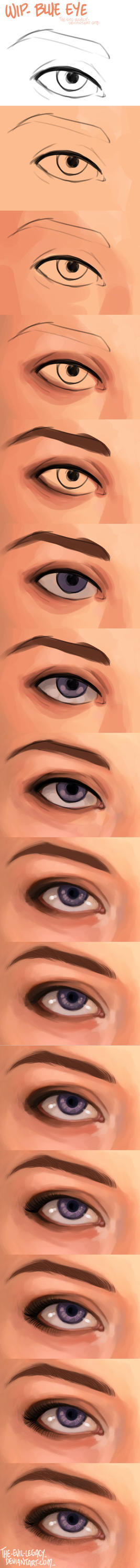 wip - blue eye by the-evil-legacy