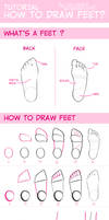 tuto - how to draw feet?