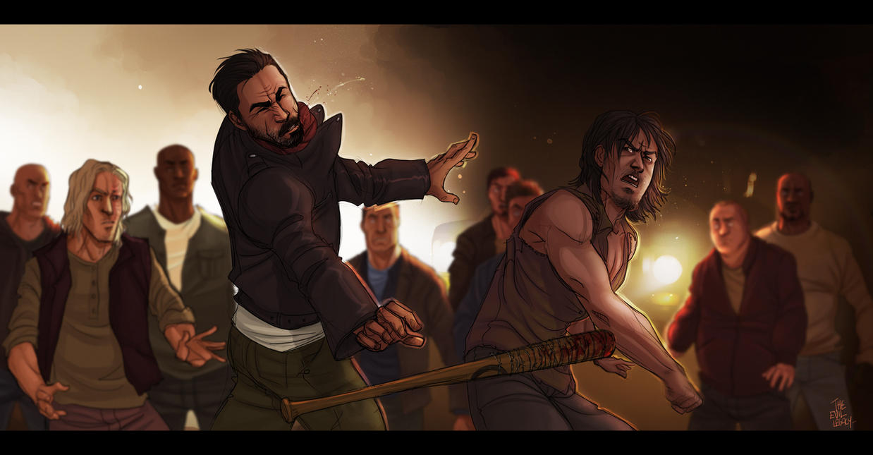 The Walking Dead - Fuckin' Bastard by the-evil-legacy