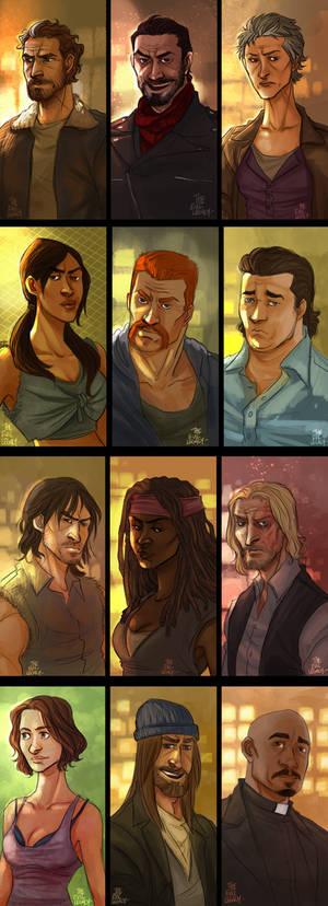 The Walking Dead - Portraits