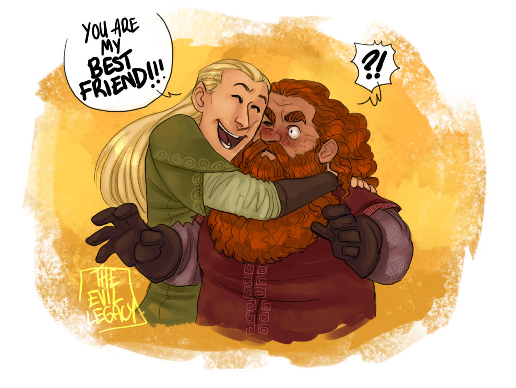 LOTR - Best friends by the-evil-legacy